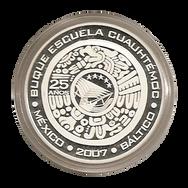 Logo Buque Escuela Cuahtemoc Casa de la Moneda