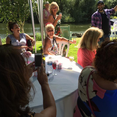 Shepperton Riverside Garden Venue for hire for Parties, Weddings