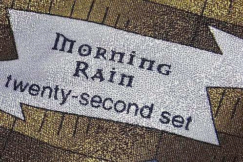Grateful Dead Neckwear - Men's Silk Tie - Morning Rain -
