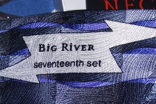 Grateful Dead Neckwear - Men's Silk Tie - Big River - 17th Set