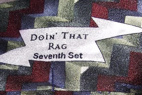 Grateful Dead Neckwear - Men's Silk Tie - Doin' That Rag - 7th Set