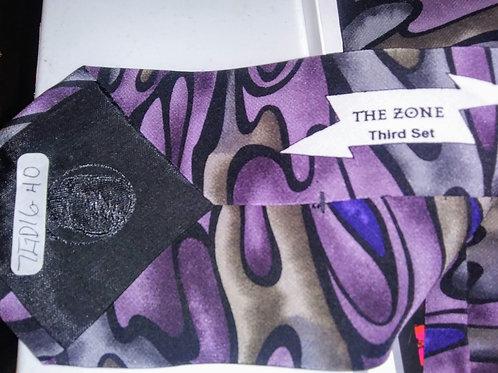 Grateful Dead Neckwear - Men's Silk Tie - The Zone - 3rd Set