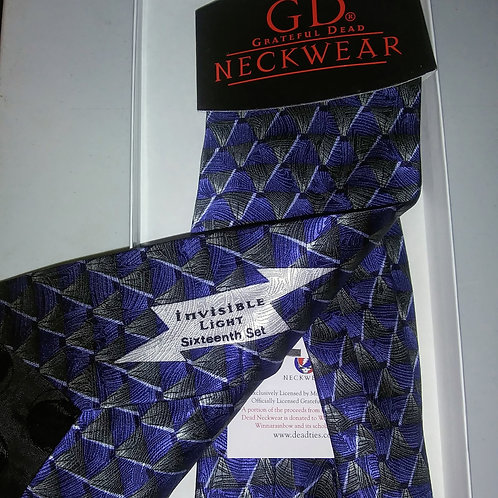 Grateful Dead Neckwear - Men's Silk Tie - Invisible Light - 16th Set