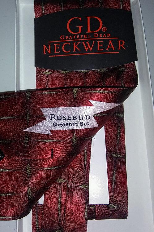 Grateful Dead Neckwear - Men's Silk Tie - Rosebud - 16th Set