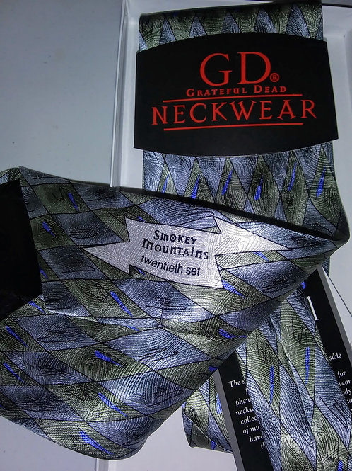 Grateful Dead Neckwear - Men's Silk Tie - Smokey Mountains - 20th Set