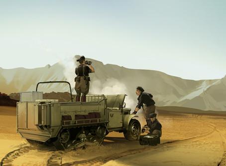 Italians in the Libyan Desert