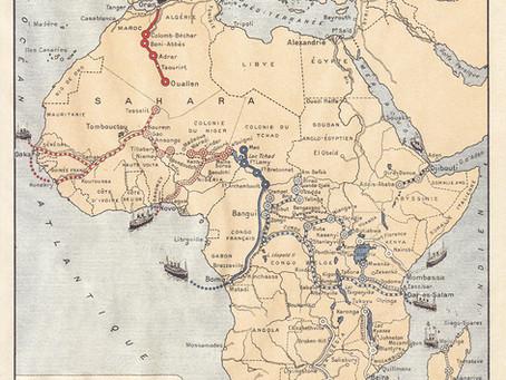 """La """"croisière Noire"""" ou l'expédition Citroën Centre-Afrique."""
