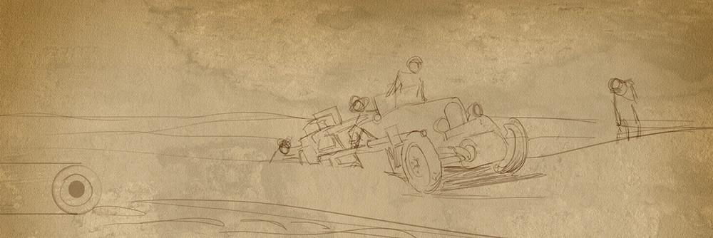 Equipage Français dans le Sahara
