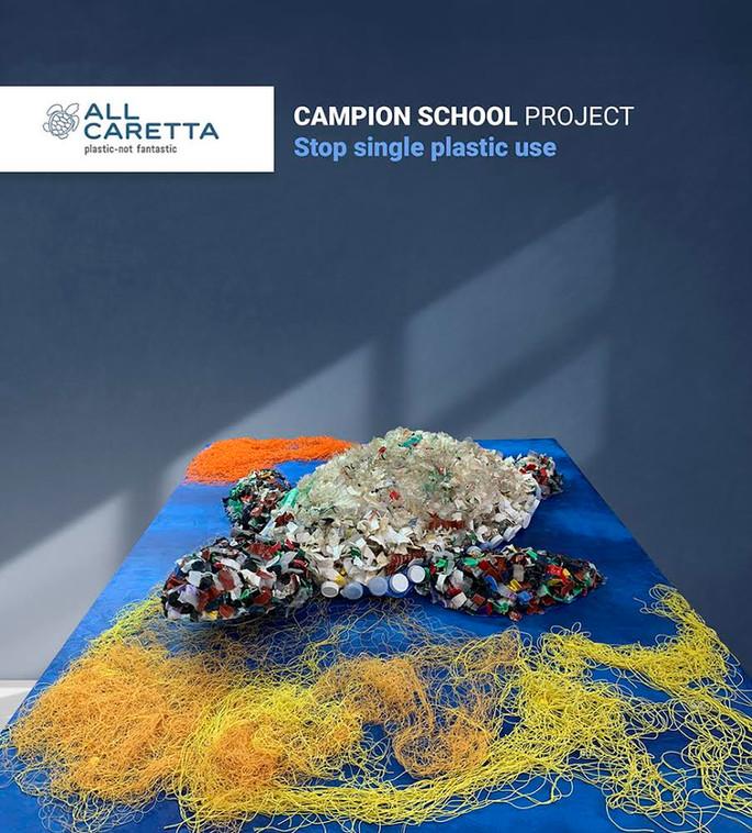 The complete Caretta-Caretta Scultpure