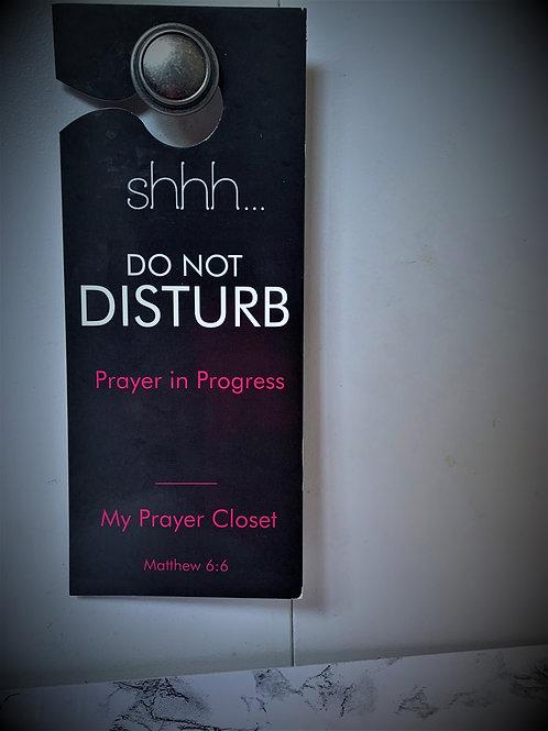 Prayer Closet Door Tag
