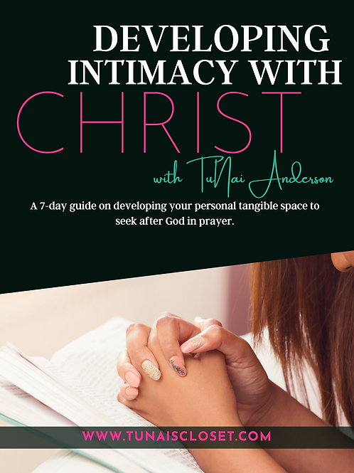 Developing Intimacy With Christ e-Book