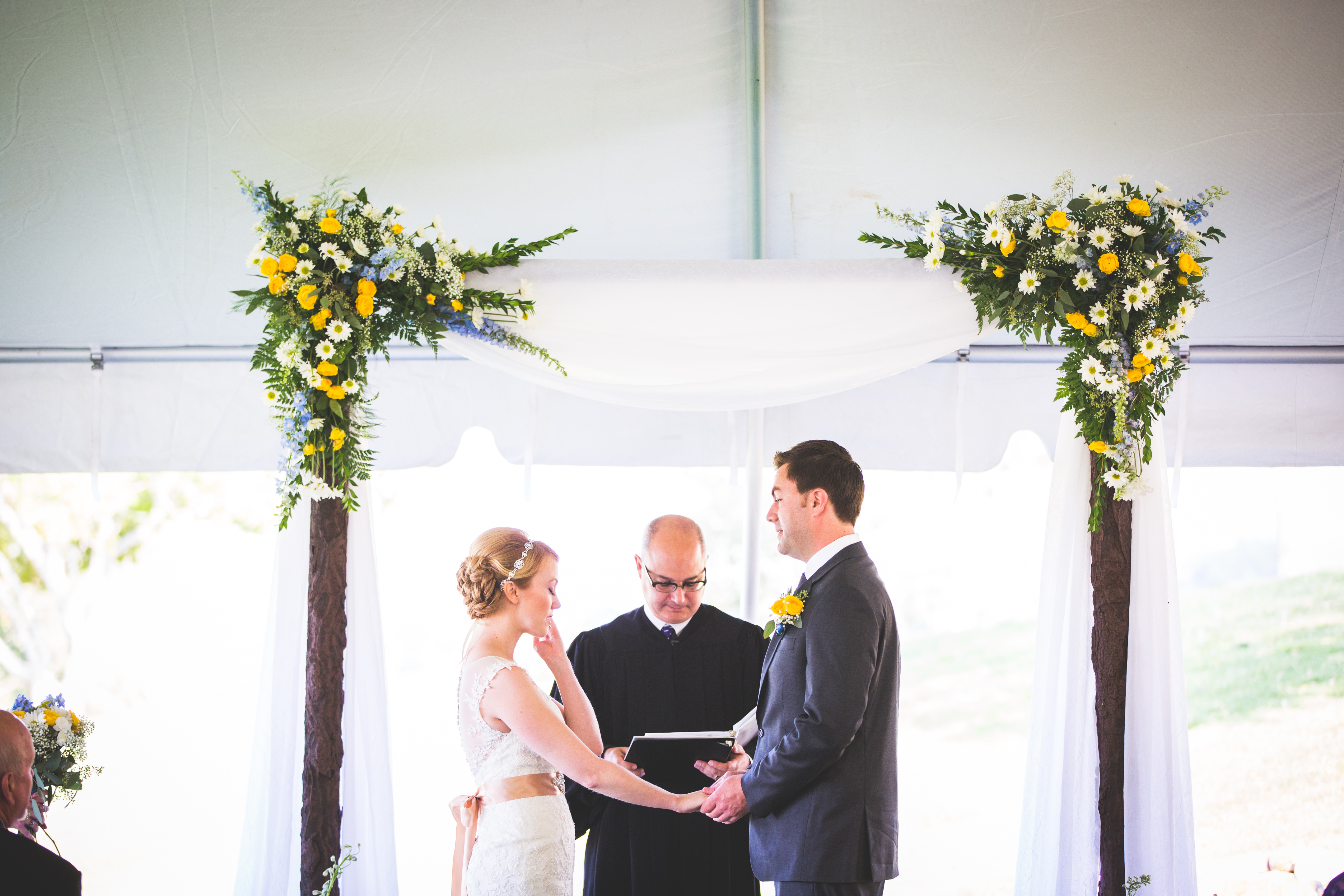 Rolling Hills Country Club ceremony