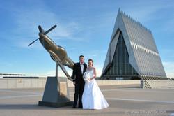 US Air Force academy wedding