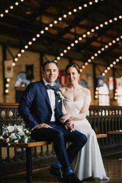USNA bride and groom