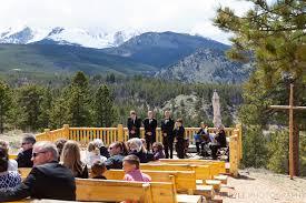 YMCA Rockies overlook wedding