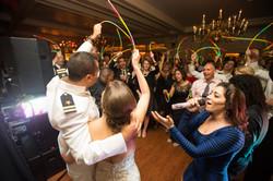 USNA Officer's Club wedding send off
