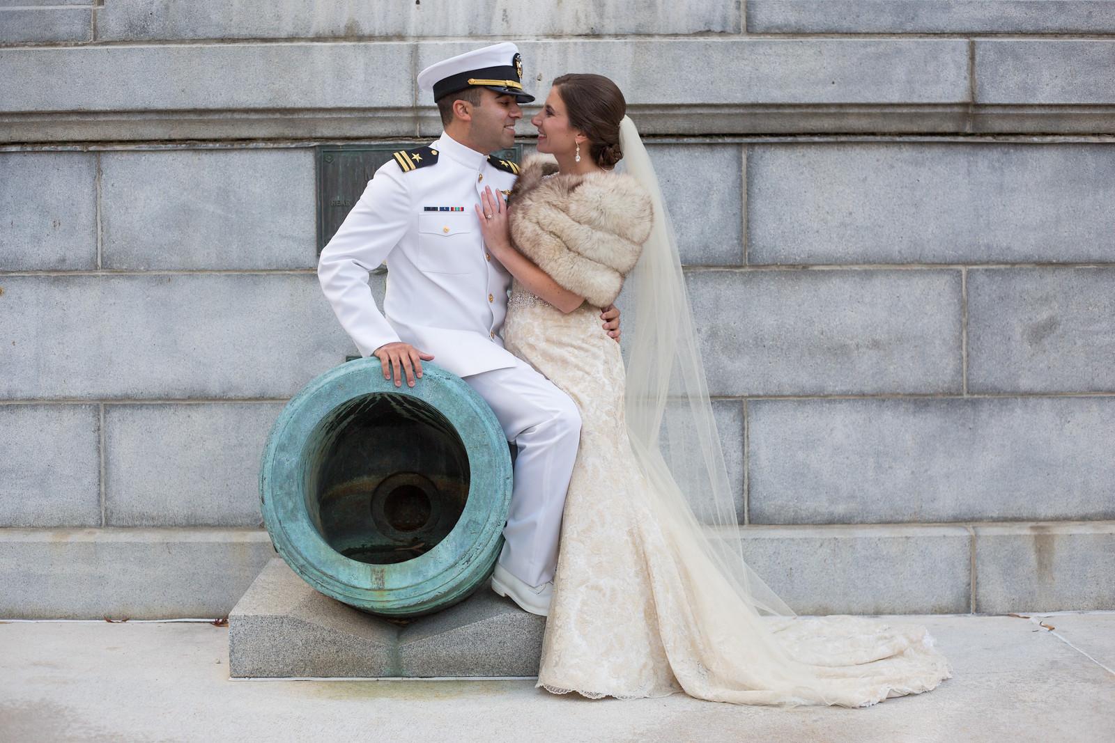 USNA wedding