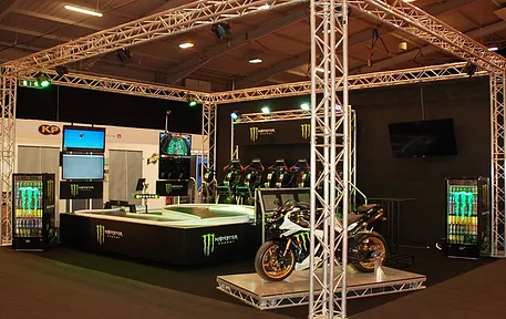 Monster Energy Exhibition Stand