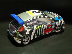 Monster Hoonigan Racing Ford Fiesta