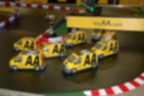 AA Yellow Vans Interactive Brandable Marketing