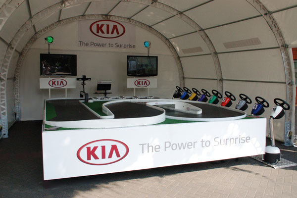 Event Shelter Kia Branded System
