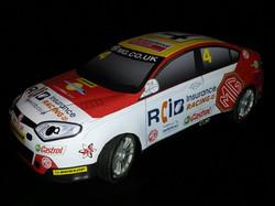MG 2016 BTCC Car Body Image