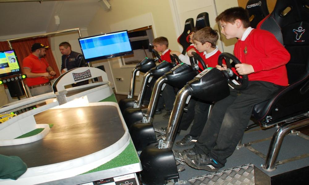 Seated Racing