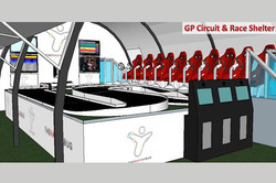 GP Circuit in Race Shelter