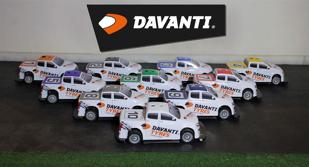 Davanti Tyres Racing Truck fleet