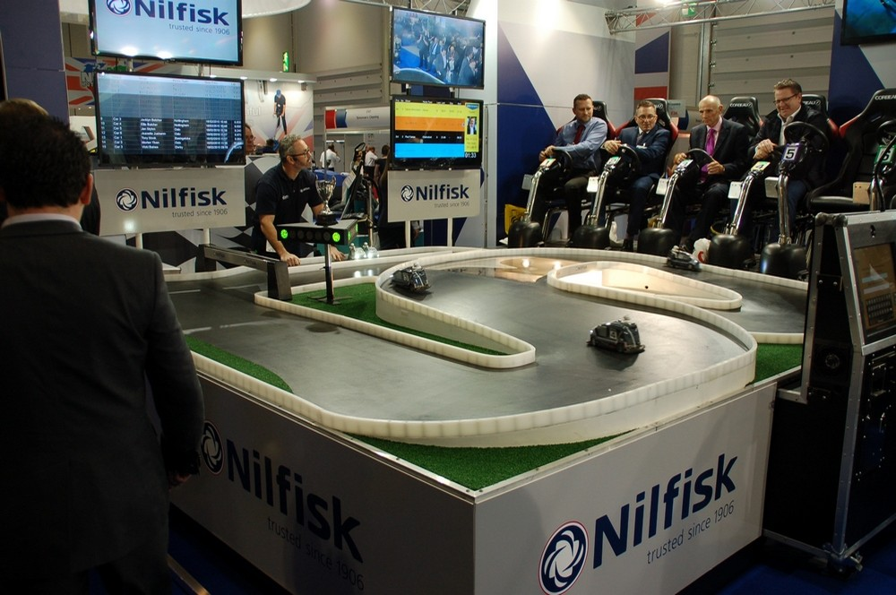 Nilfisk seated race track