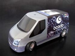Blackberry Ocado Van