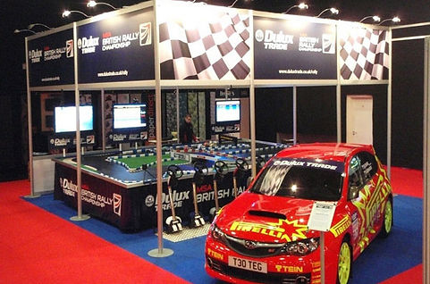 Dulux Trade Interactive Trade Show Stands Idea