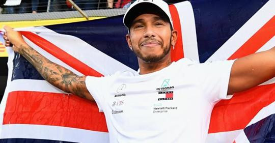 Lewis Hamilton Racing Champion