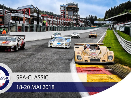 The Racing Bug are Taking the Classics Cars to Spa-Classic this Weekend