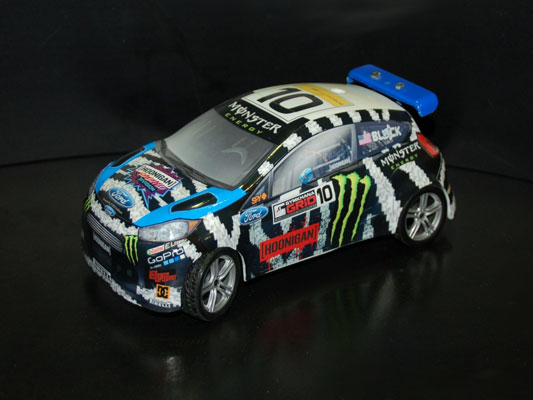 Monster X-Games Racing Ford Fiesta
