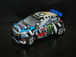 Monster X-Games Racing Ford Fiesta