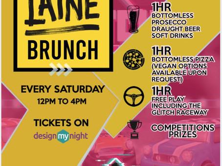 Brunch at The Glitch Bar Shoreditch Every Saturday!