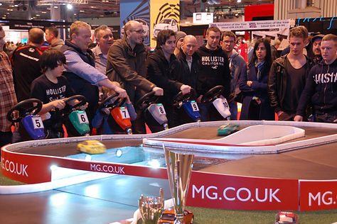 MG Exhibition Crowded Stand, Ideas For Hire