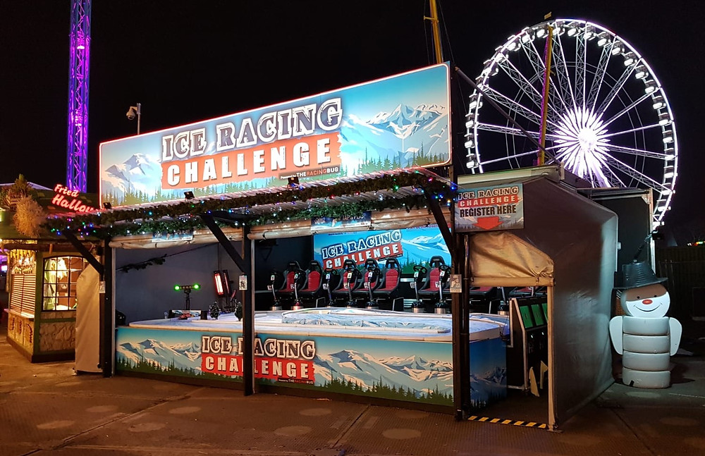 Winter Wonderland Ice Racing Challenge Christmas Event Attraction