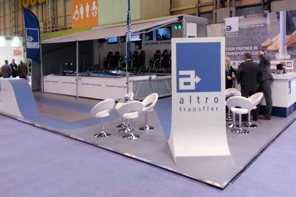 The Racing Bug Altro NEC stand
