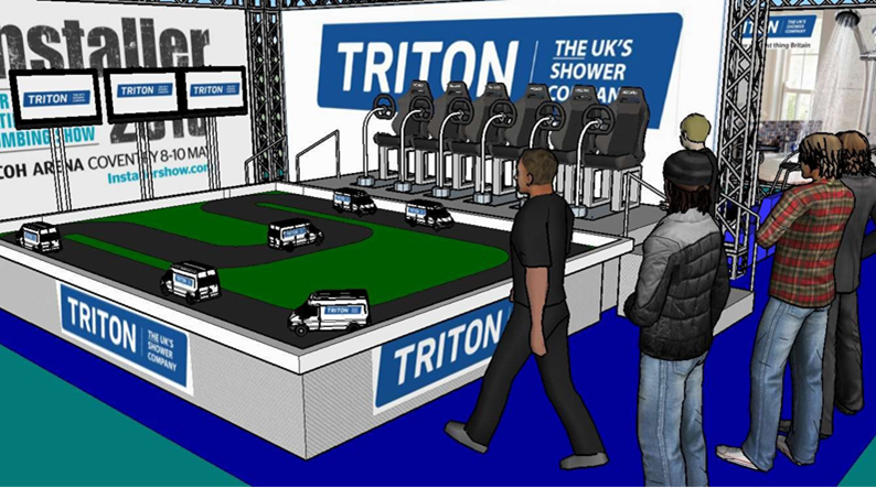 Triton, Hire, Event, Exhibition