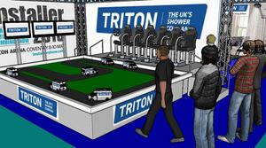 Triton, Hire, Event, Exhibition