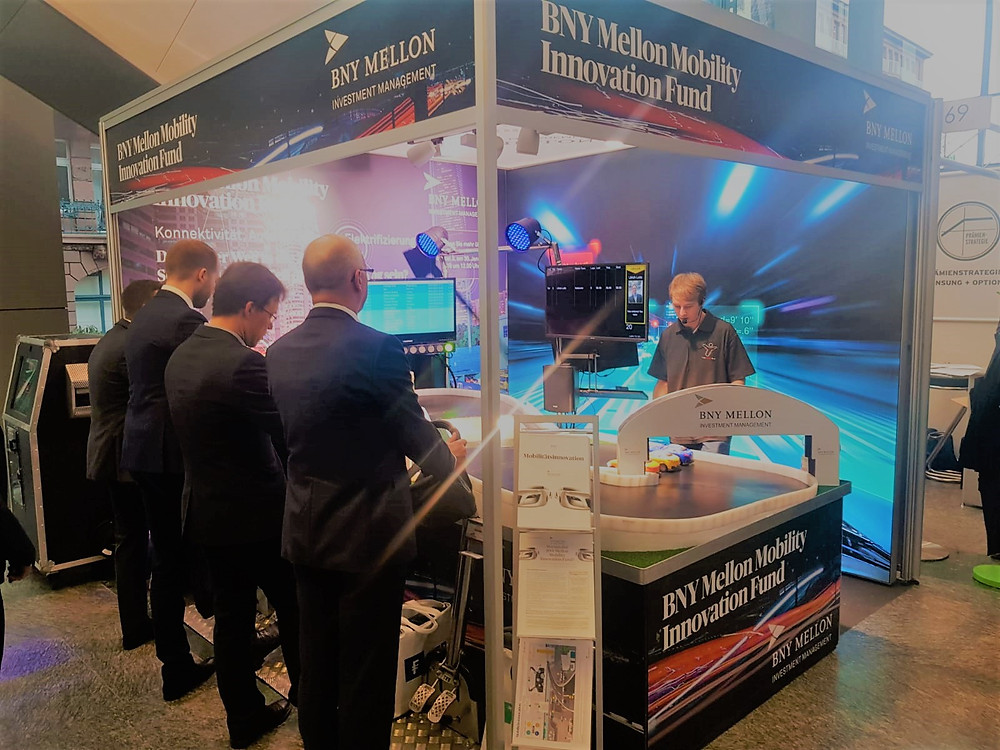 BNY Mellon Exhibition stand