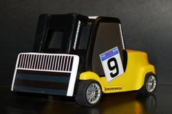 Jungheinrick yellow Forklift front