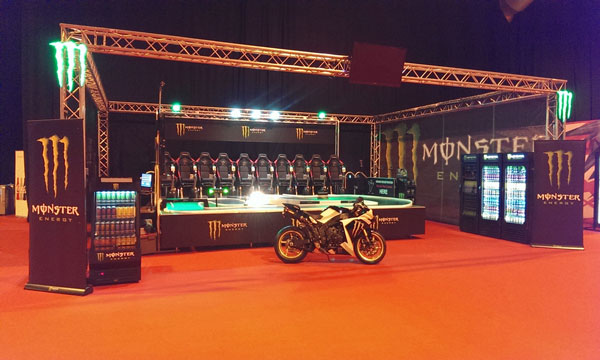 Monster Energy Exhibition Stand NEC