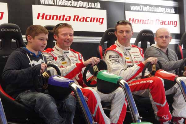 Honda BTCC Drivers have The Racing Bug