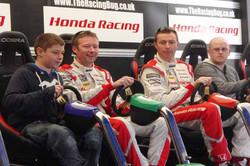 Honda BTCC Drivers have The Racing Bug