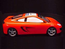 McLaren MP4 12C Side
