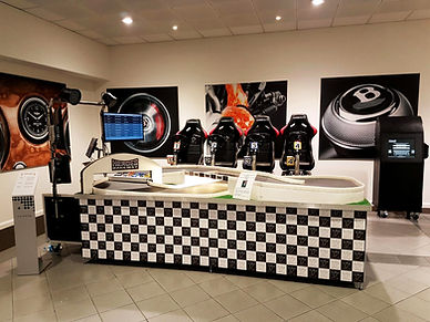 Black and white chequered System, Event Entertainment Attraction For Hire