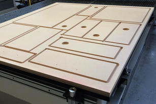 MDF CNC Profiling
